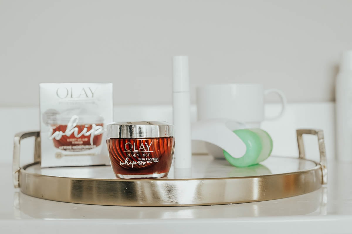Skincare Routine Essential: Olay Whips featured by popular Tennessee beauty blogger Modern Day Moguls