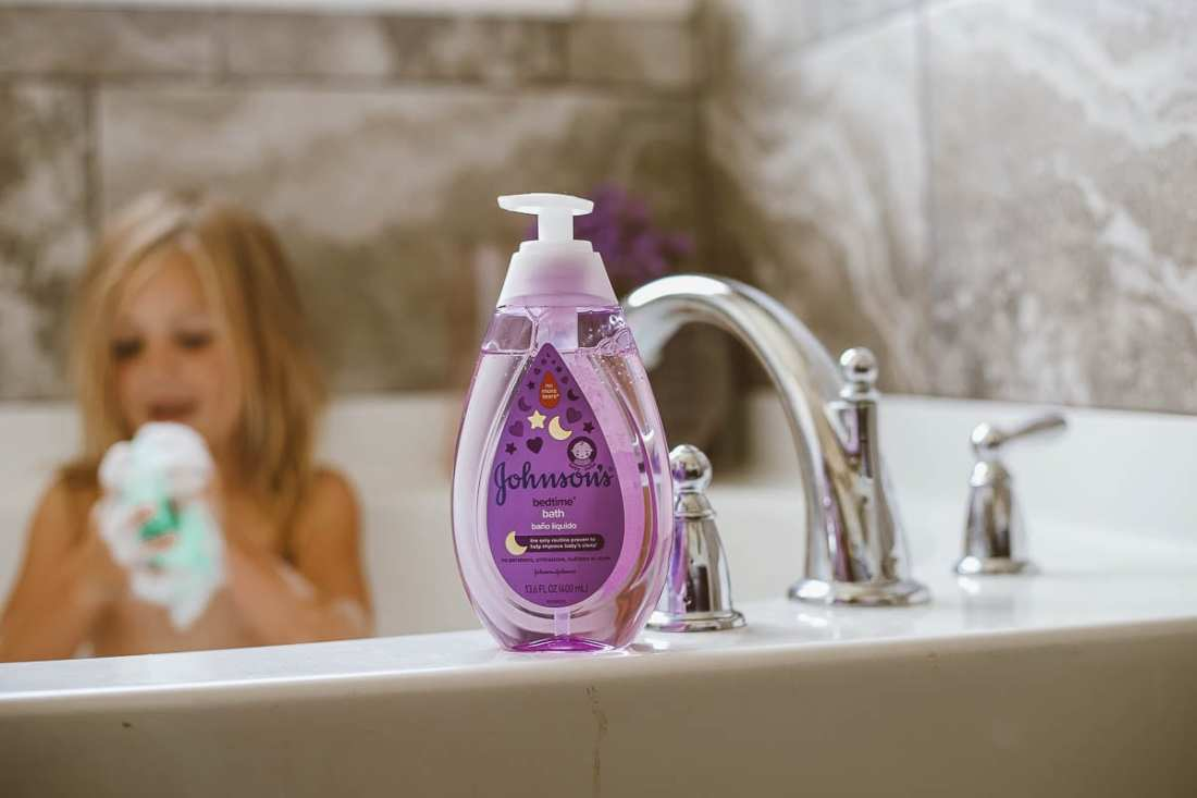 Johnson's   Tips for a Bedtime Routine for Kids That Works featured by popular Tennessee lifestyle blogger Modern Day Moguls