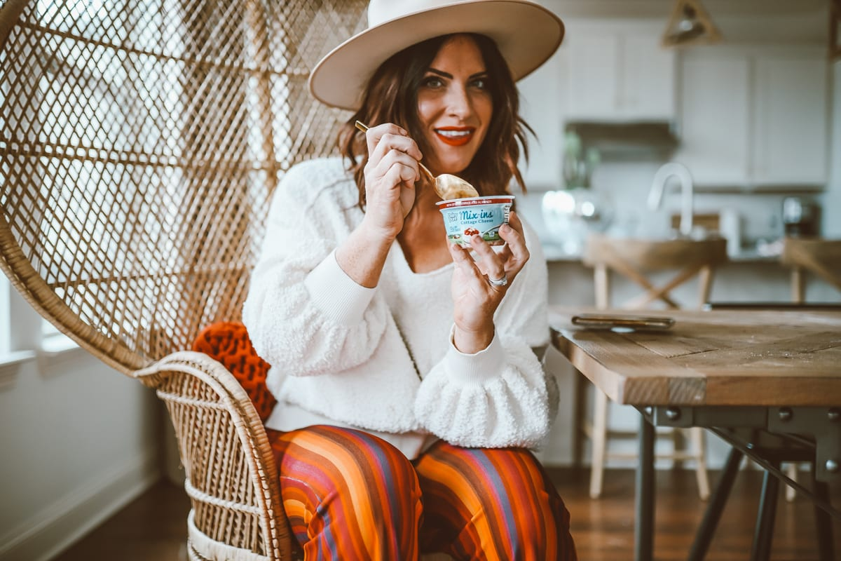 Healthy Living | DairyPure Cottage Cheese Mix-Ins : Cottage Cheese Is Making a Comeback featured by top Nashville life and style blog Modern Day Moguls