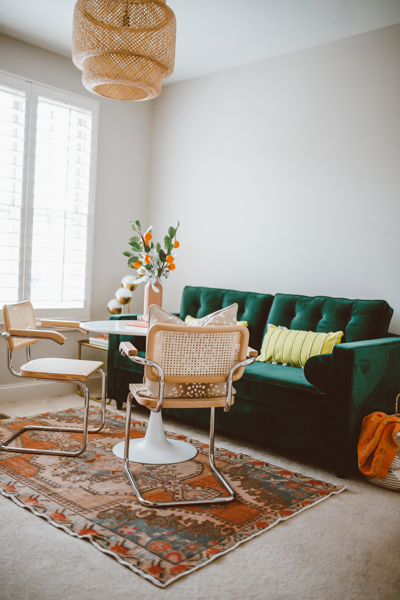 Where to Find A Styled Marcel Brewer Cesca Chair Replica featured by top US life and style blog, Modern Day Moguls