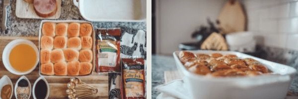 Kid Friendly​ Meal Prep Ideas ​: Back to School Edition by popular Nashville life and style blog, Modern Day Moguls: image of oven baked sandwiches with Sargento sliced cheese.