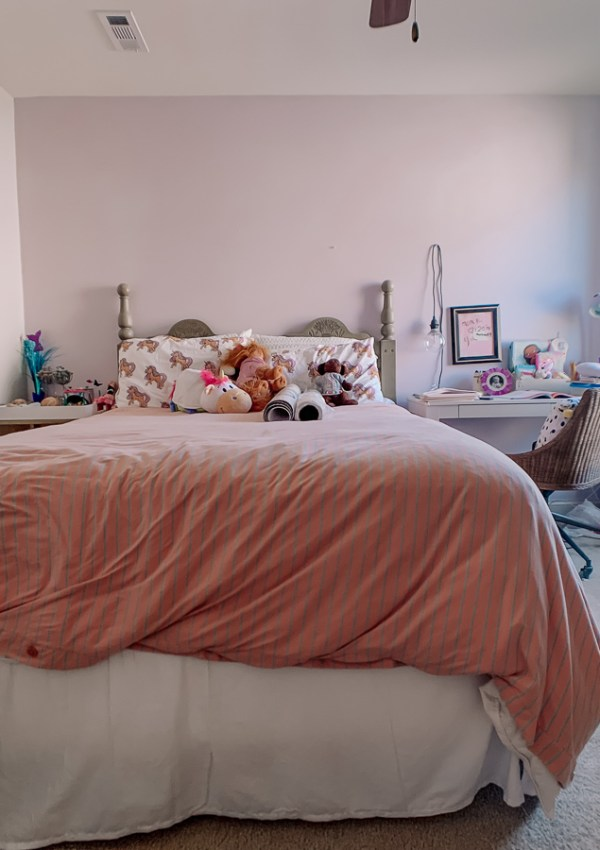 Girls Bedroom Redo: Mermaid, Unicorn, and Rainbows Oh My!