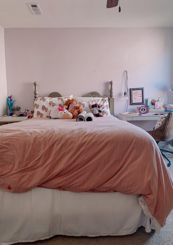 Girls Bedroom Redo: Mermaid, Unicorn, and Rainbows Oh My!