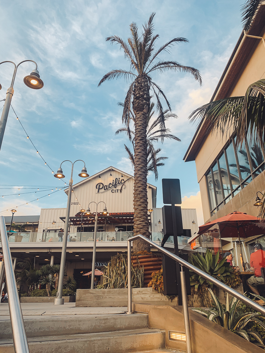 California Vacation Ideas for a Momcation in Orange County by popular Nashville travel blog, Modern Day Moguls: image of Pacific City.