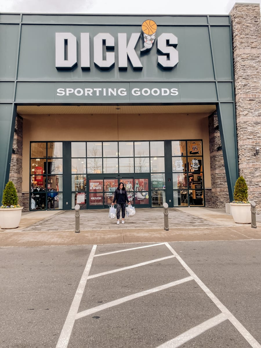 Unwrap the Magic of Sports with Dick's Gift Ideas by popular Nashville life and style blog, Modern Day Moguls: image of Dick's Sporting Goods store exterior.