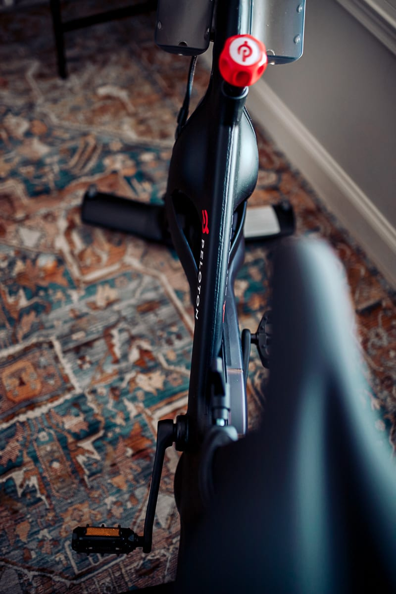 I Hate Working Out at Home, So I Bought a Peloton Bike by popular Nashville life and style blog, Modern Day Moguls: image of a Peloton bike.