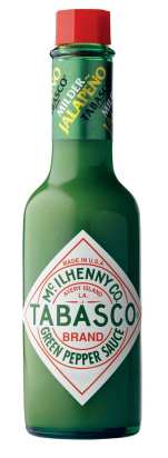 Tabasco Brand Green Pepper Sauce