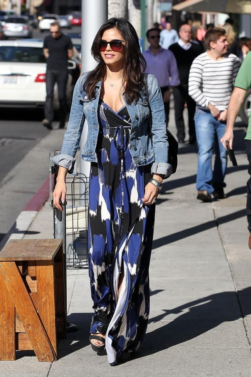 Jenna Dewan does lunch for two at Urth Cafe