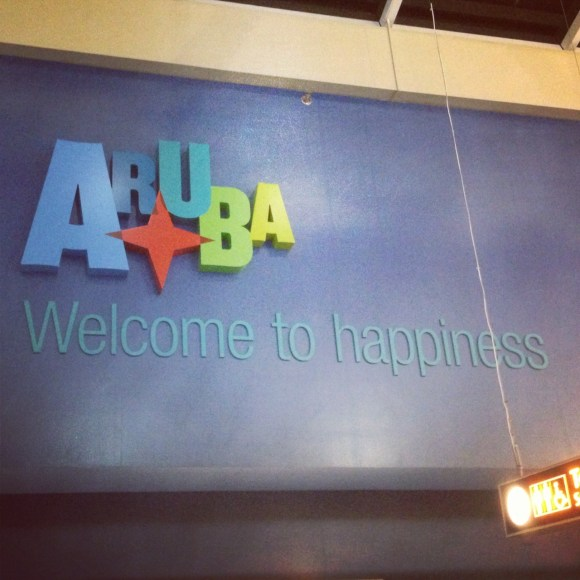 Aruba welcome