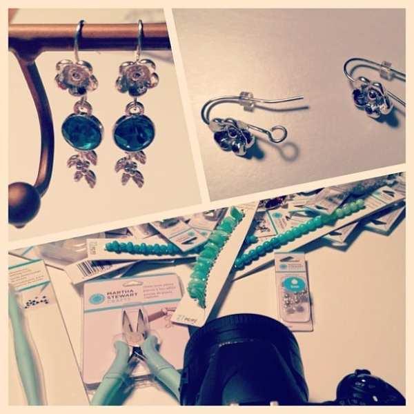 Making things. @ms_living #12monthsofmartha #diy #crafts #love