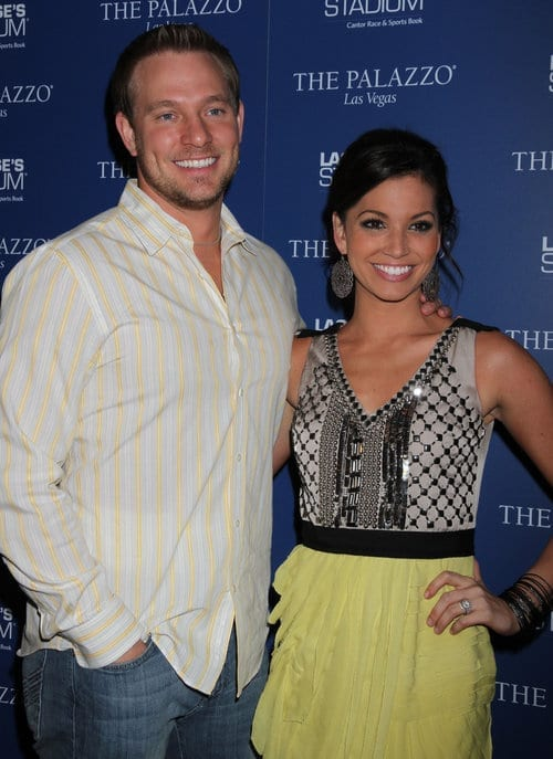 Melissa Rycroft And Tye Strickland Host A Fan Party