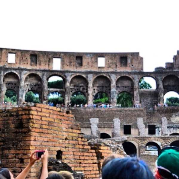 Europe Day 1: The Colosseum & Rome! #peopletopeople #travel #europe @peopletopeopleambassadors