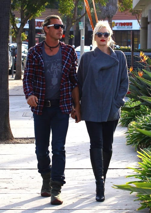Exclusive... Gwen Stefani & Gavin Rossdale Out And About In Los Angeles