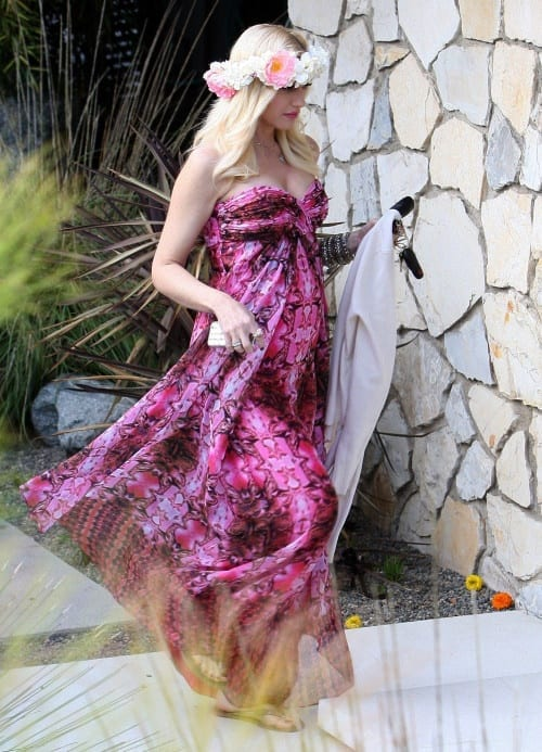 Pregnant Gwen Stefani & Gavin Rossdale At A Baby Shower