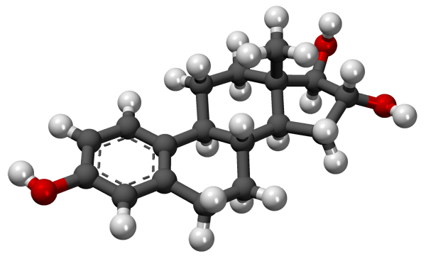 Estriol-3D-model