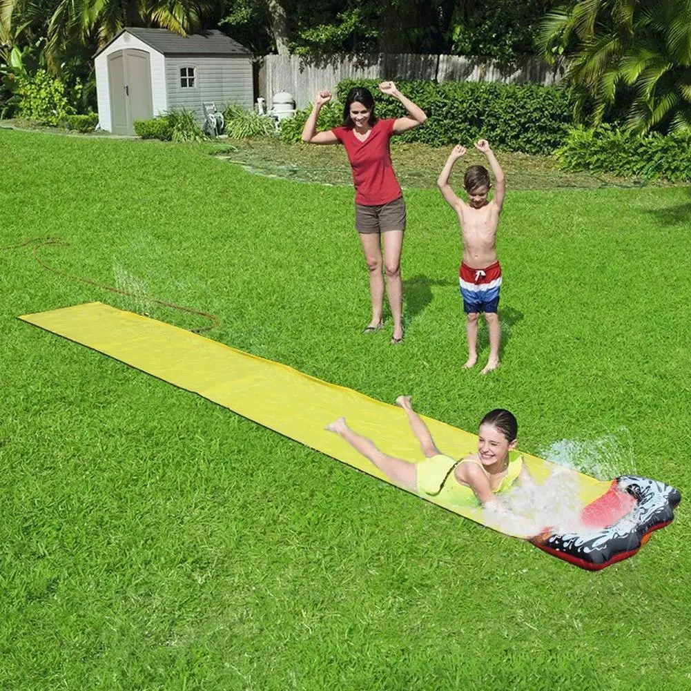 Portable Backyard Kids Water Slip And Slide | Modern Depot
