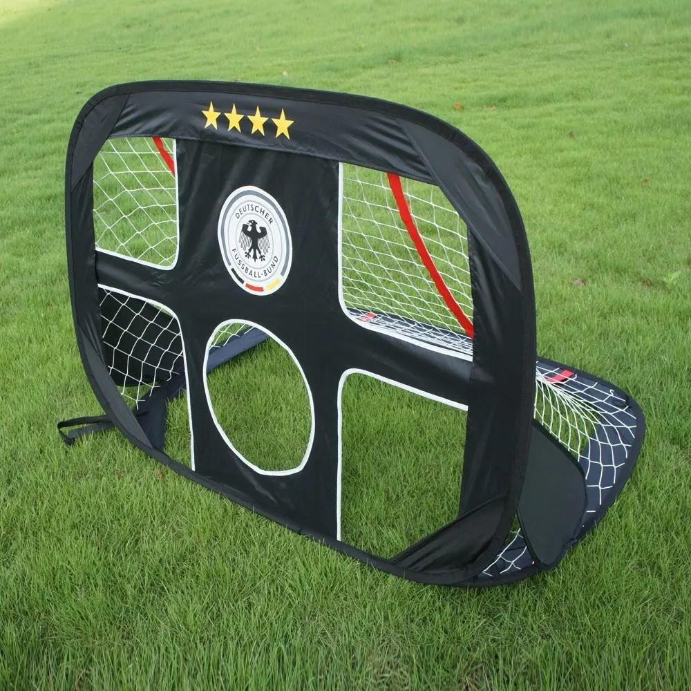 Mini Portable Backyard Pop Up Soccer Goal Net   Modern Depot