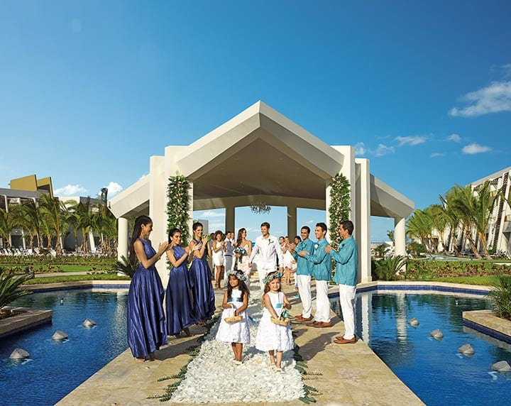 Now Onyx Punta Cana Wedding  Modern Destination Weddings