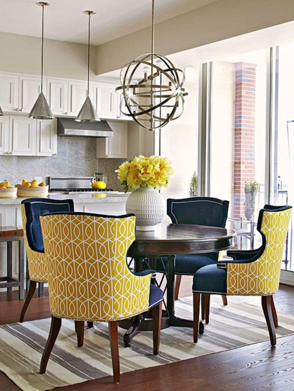 Yellow Dining Room Chairs