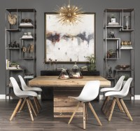 10 Superb Square Dining Table Ideas for a Contemporary ...