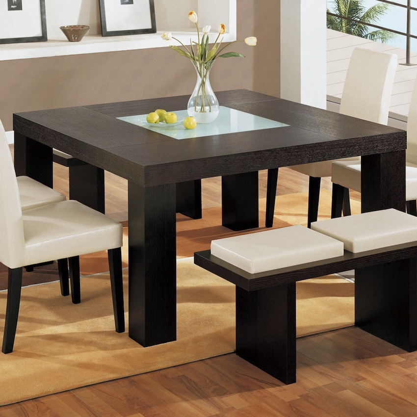 10 Charming Square Dining Table Ideas To Glam Up Your Home Decor Modern Dining Tables