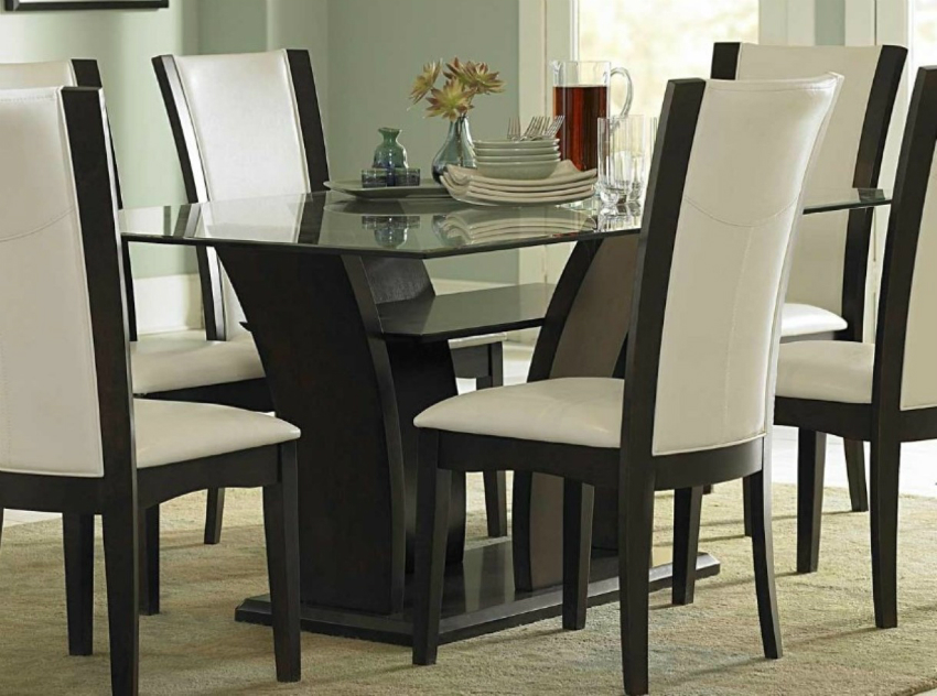 white leather chairs dining rocking lawn chair the most sophisticated room focus on contemporary
