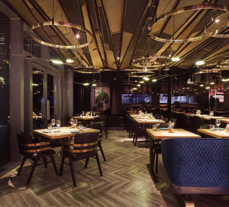 The Magnificent Dining Area Dcor of Vida Luxury Restaurant