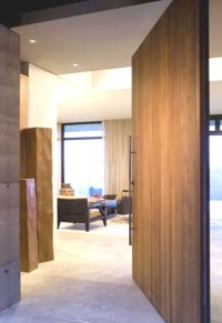 modern home decor large pivot door insulated wood door ...