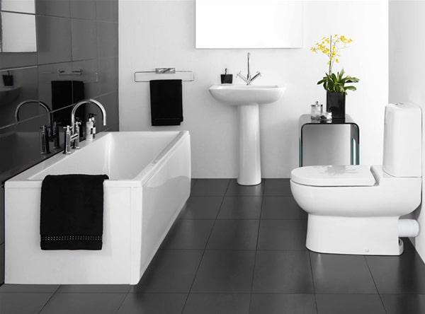 15 idees design pour petite salle de bains