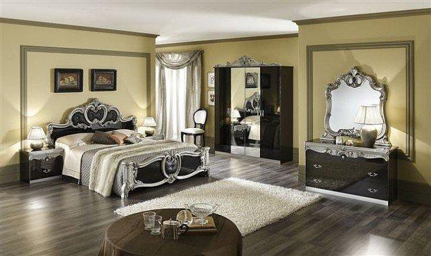 41 ides dco de chambre baroque entre luxe et glamour