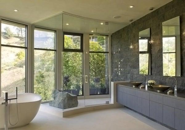 salle de bain grise 65 idees design et originales du gris taupe a l ardoise