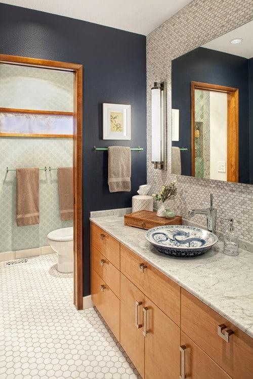 salle de bain bleue 101 manieres de sublimer le bleu dans une salle de bain