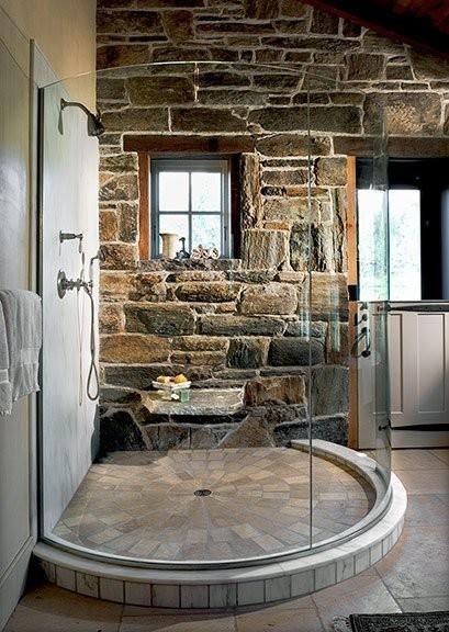 salle de bains en pierre 35 modeles en marbre granit basalte et quartzite