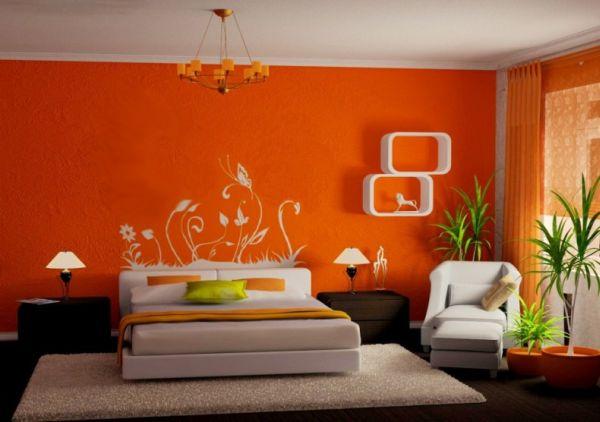 chambre orange 21 exemples pour
