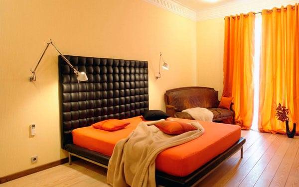 Chambre orange 21 exemples pour distiller chaleur et intimit