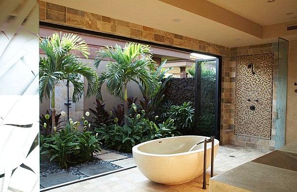 12 Ides Dco De Salle De Bains Dans Un Style Tropical