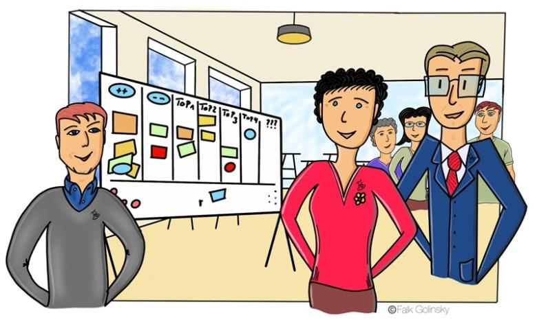 die kreative Vorstandssitzung