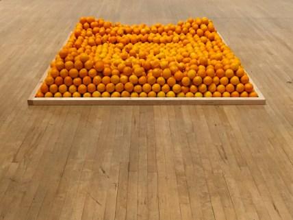 Oxygen Molecules 3, Soul City (Pyramid of Oranges), Roelof Louw, 1967
