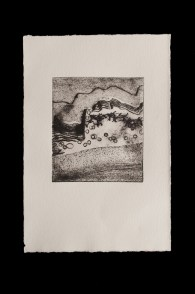 Abstract 1, Drypoint Print
