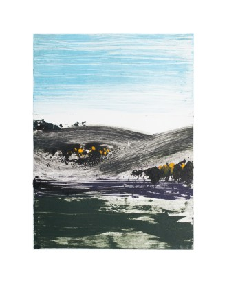 Monoprint (Highlands 1)