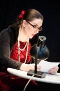 Aus den Briefen las Annette Elster am Ende der Veranstaltung, mit einem überraschenden Humor und Lebendigkeit stand Louise Dumont vor Augen.