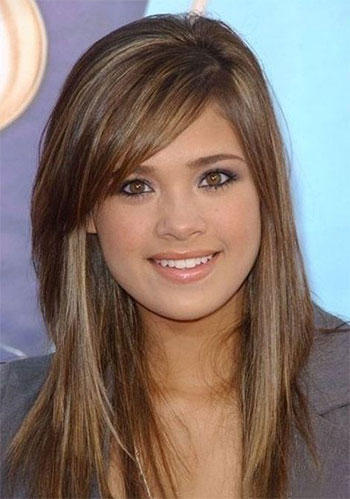 Long Hairstyles For Round Shaped Faces Easy Casual Hairstyles