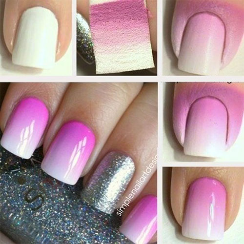 First I Did Basic Procedure Rubbed Cuticle Oil On My Finger Nails And Then Added A Base Coat After The Has Dried Painted Two Coats Of