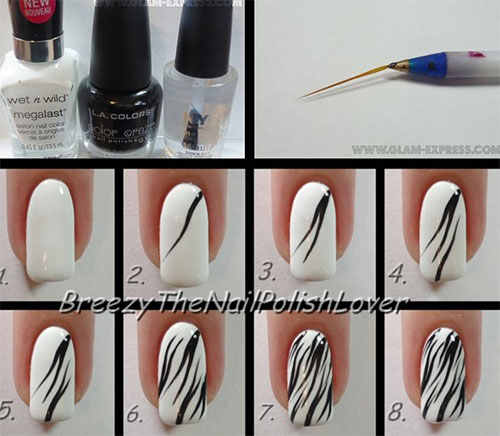 New Step By Nail Tutorials Emboss Art Brocade Design