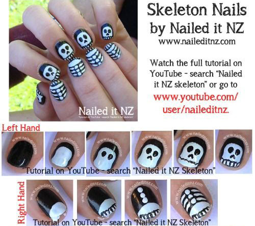 15 Scary Nail Art Tutorials For Beginners