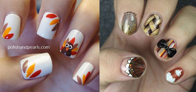 30 Thanksgiving Nail Art Designs Ideas Trends Stickers
