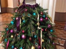10+ Home-made Christmas Tree Costume Ideas For Girls ...