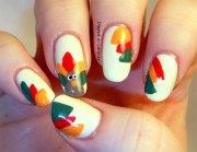 easy thanksgiving nail art