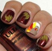turkey nail art design ideas