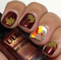 18 Turkey Nail Art Designs, Ideas, Trends & Stickers 2014 ...